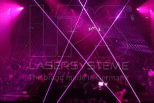 Laser show effects with DJ Tiesto in Belgrade, Serbia and Beirut, Lebanon.