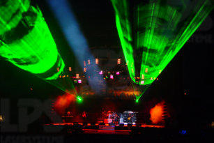 Stage effects and laser shows with Bang your Head!!! in Balingen