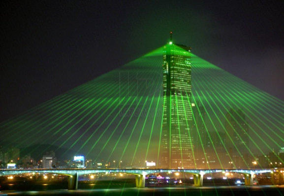 Laser show system LPS-Bax in South Korea