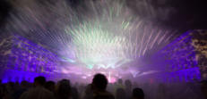 Outdoor laser show with LPS-Bax laser show sytems