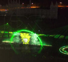 Permanent installation of laser show systems in Kangwon Land, Sout Korea